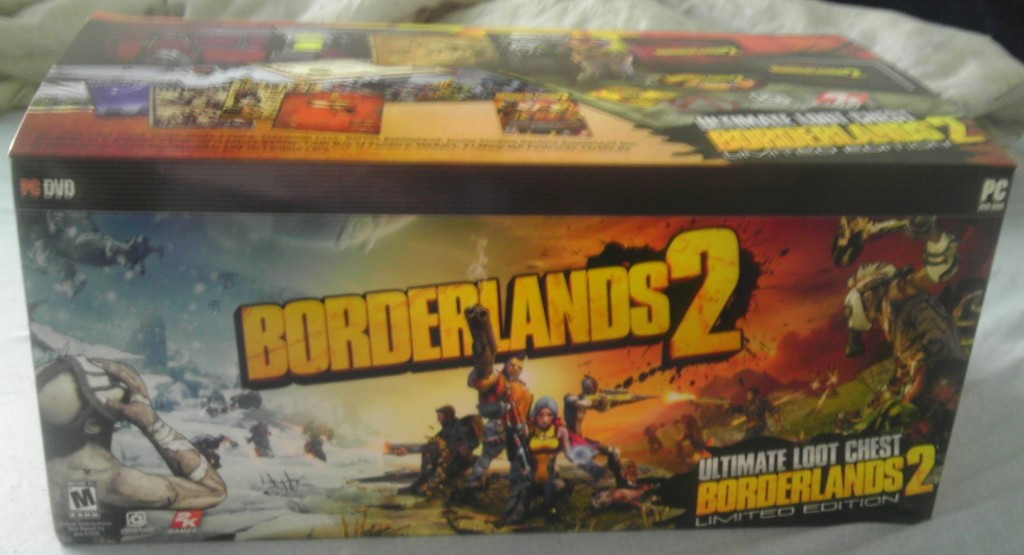 Borderlands 2 Ultimate Loot Chest Edition Box