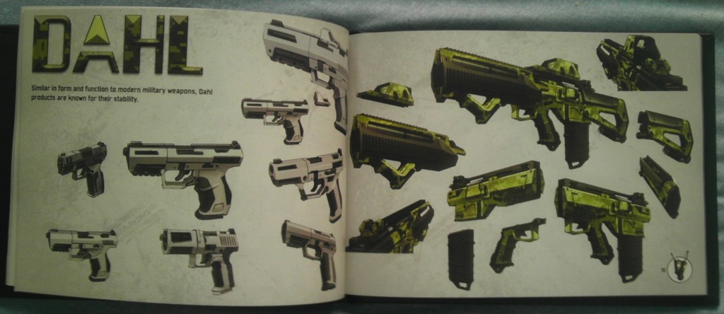Inside the Borderlands 2 art book