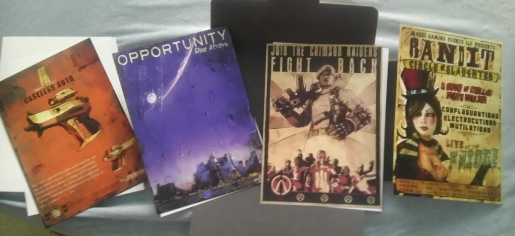 Borderlands 2 Lithographs