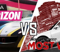 Need for Speed Most Wanted vs. Forza Horizon